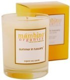 Mambino Organics Summer In Tuscany Organic Soy Candle (50 hr burn time)