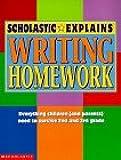 Writing Homework (Scholastic Explains)