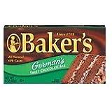 Kraft Baking & Canning Baker's Chocolate Bar German's Sweet 4-oz