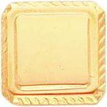 Gold Plated Square Tie Tac