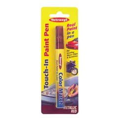 Tetrosyl Car Paint Repair Scratch Remover Touch Up Pen - Metallic Red PPM010 from tetrosyl