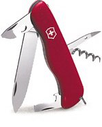 Victorinox Swiss Army Picnicker Pocket Knife (Red)