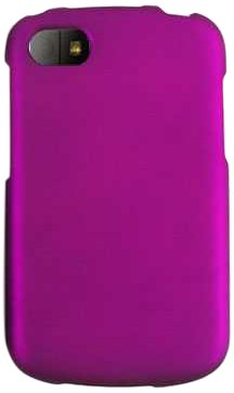 Cell Armor Bbq10-Snap-A008-Dp Snap-On Case For Blackberry Q10 - Retail Packaging - Dark Purple/Leather Finish