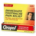 Orajel Maximum Strength Gel Oral Pain Reliever - .42 oz