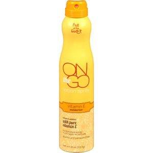 Fruit Of The Earth On The Go Lotion Spray, Vitamin E Moisturizer, 8Oz