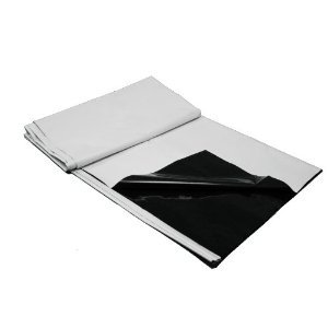 Panda Film Black & White Poly Film 5.5 Mil 10' x 25' (White Plastic Sheeting compare prices)