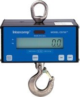 INT-100655 Intercomp Hanging Scale, CS750, NTEP, 0-1000 x 0.1 lb.