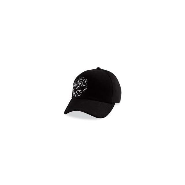 Harley Davidson® Womens Crystal Skull Baseball Cap / Hat