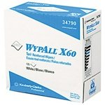 Kimberly-Clark 9.1'' X 16.8'' White WYPALL X60 TERI Reinforced Wipers In POP-UP Box