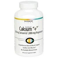 Rainbow Light Magnesium Calcium Plus 90 Tablets