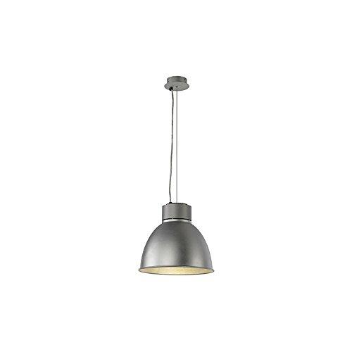 SLV Para LED Pendelleuchte für Philips LED Twistable Module, maximal 20 W, silbergrau 165204