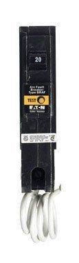 Eaton Corporation Br120Af Single Pole Arc Fault Circuit Breaker, 20-Amp