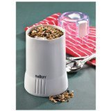 Salton CG7W Coffee and Spice Grinder, White by Salton (Toastess Coffee Grinder compare prices)