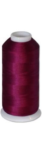 12-cone Commercial Polyester Embroidery Thread Kit - Plum Dark P570 - 5500 yards - 40wt