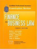 img - for Cps Examination Review for Finance and Business Law book / textbook / text book