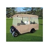 Enclosure, 4 Sided Enclosure, 4 Passenger, Tan, For EZ-Go 1994+ Medalist/TXT, Club Car 2000+, Yamaha 1995+ G14-G22