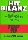 Hit Bilanz. Deutsche Chart Singles 1981 - 2000 Top 10.