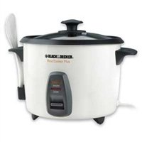 White Black and Decker 16-Cup Multi-Use Rice Cooker