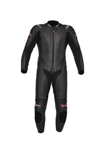 RST R-14 MOTORCYCLE MOTORBIKE LEATHER SUIT RACE TRACK ROAD ONE PIECE BLACK 40