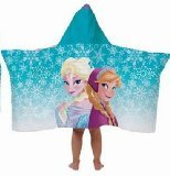 Disney Frozen Hooded Towel Wrap / Cape - Elsa and Anna - 1