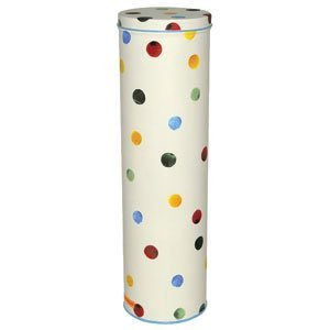 Emma Bridgewater Polka Dot Tall Caddy / Spaghetti Jar