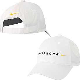 Nike Ladies Golf Hat LIVESTRONG White Adjustable by Nike