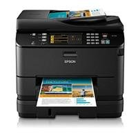Epson WorkForce Pro WP-4540 Wireless All-in-One Color Inkjet Printer, Copier, Scanner, Fax (C11CB33201)
