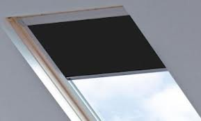 Blackout Roof / Skylight blind For Velux GGL/GPL/GHL (BLACK 0009 (SYS F), MO4/304/1)