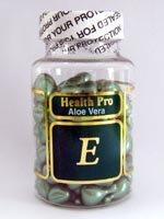 Aloe Vera et vitamine E huile de la peau, 90