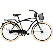 Buy 26 Huffy Nel Lusso Mens Cruiser Bike, PIANO BLACK hot new color! by Huffy