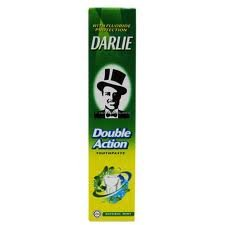 Good Selling Darlie Double Action Toothpaste Plus Fluoride 2 Mint Powers 200 G. front-431795
