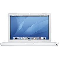 Apple MacBook MA255 33 cm (13 Zoll) WXGA Notebook (Intel Core Duo 2 GHz, 512 MB RAM, 60 GB HDD, DL DVD+/- RW, OS X 10.4.x) weiß