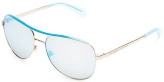 Kate Spade Sunglasses - Dusty / Frame: Gold Lens: Turquoise Mirror-Dustys03Yg