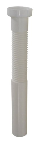 Kissler & Company 10-0040 1-1/2-Inch Plastic Flexible Drain Tailpiece front-614145