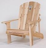 East Carolina University Adirondack Chair with 23 inch Seat Width