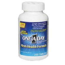 One-A-Day Mens Health Formula Multivitamin - 250 Tabs