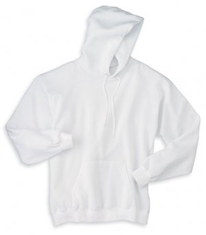 Big Mens Pullover Hooded Sweatshirt by Hanes® (Big & Tall and Regular Sizes) by Bigmansland