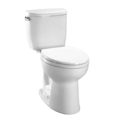 Toto-CST243EF-01-Entrada-128GPF-Round-CalGreen-Two-Piece-Toilet-White