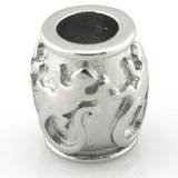 HEIRLOOM Water proof Gecko Bead fits Pandora by Island Imports And More
