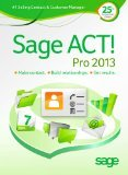 Sage ACT! Pro 2013 - license
