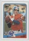 John Elway Denver Broncos (Football Card) 1988 Topps #23