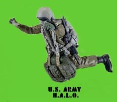 Picture of Dusty Trail Modern US Army HALO Action Figure Dusty Trail Toys Trail Troopers (B000NMAMDK) (Halo Action Figures)