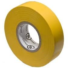 (80 Pack) Premium Grade Yellow Electrical Tape Value Pack
