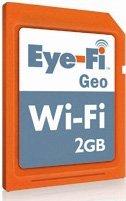 Eye-Fi 2 Gb + Wi-Fi SPECIAL GEO Version! PC, Mac und iPhone Kompatibel.