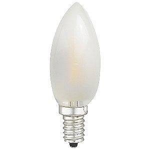 2W 120V C10 E12 Torpedo LED Filament Frosted Bulb by Spotlite-USA