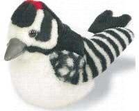 Wild Republic Downy Woodpecker Plush Toy - 1
