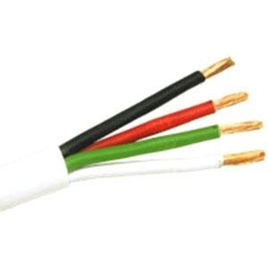 C2G / Cables To Go 43087 14/4 Cl2 In Wall Speaker Wire (1000 Feet, White)
