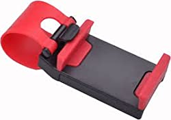 UVAA CAR STEARING HOLDER Red Color