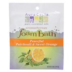 AURA CACIA FOAM BATH,PATCHOULI&ORNG, 2.5 OZ