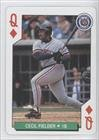 Cecil Fielder Detroit Tigers (Baseball Card) 1991 U.S. Playing Cards All-Stars #12D at Amazon.com